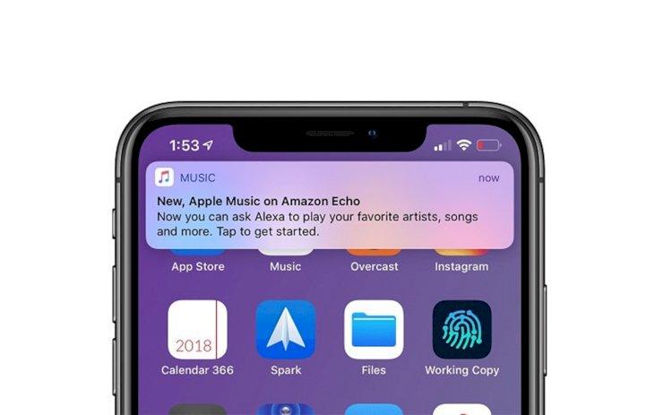 Apple cho phép ứng dụng trên iOS gửi quảng cáo qua push notification cho người dùng