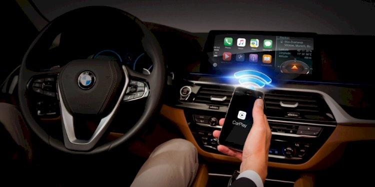 Các tài xế có thể khởi động xe của mình thông qua CarKey trong ứng dụng Wallet