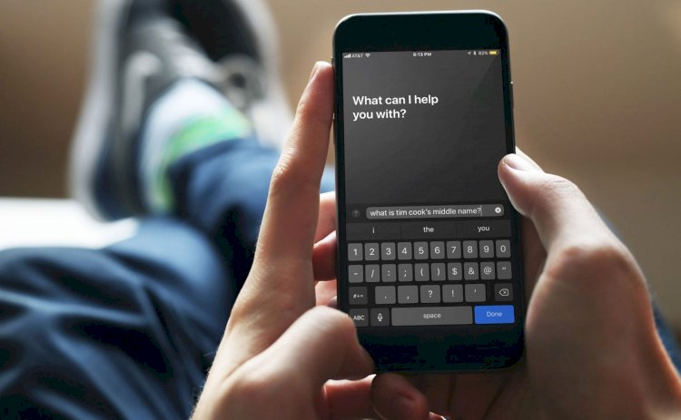 Nhập câu hỏi và ra lệnh cho Siri thay vì dùng giọng nói