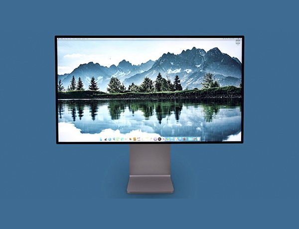 MacBook Pro 13 inch 2020 với 4 cổng Thunderbolt 3 tương thích và kết nối được với màn hình Pro Display XDR