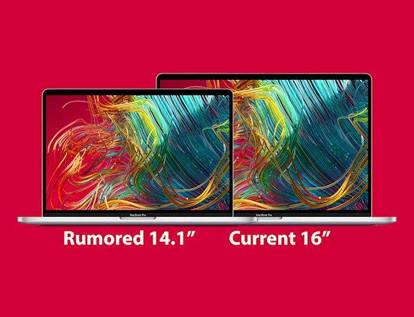 Apple sẽ chính thức giới thiệu MacBook Pro 14 inch vào năm 2021