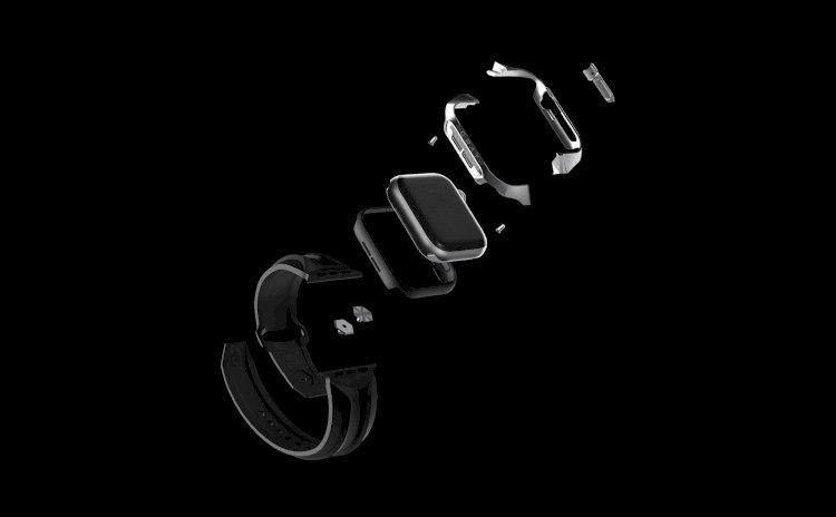 Gray ra mắt ốp bảo vệ Cyber cho Apple Watch làm bằng vật liệu tàu vũ trụ