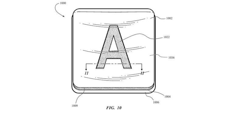 Bằng sáng chế mới của Apple: sử dụng keycaps bằng kính giúp tăng độ bền cho bàn phím của máy Mac