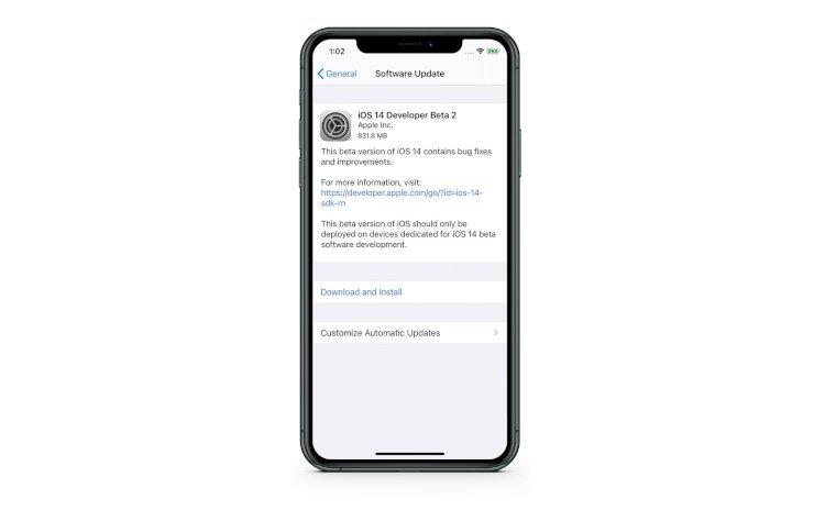 Apple phát hành iOS 14 beta 2 tới người dùng thử nghiệm