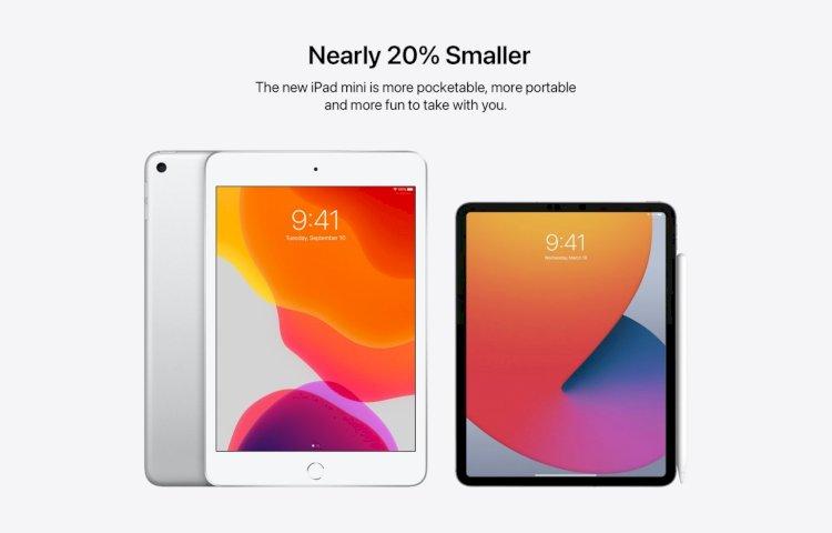 iPad mini với viền màn hình mỏng như iPad Pro