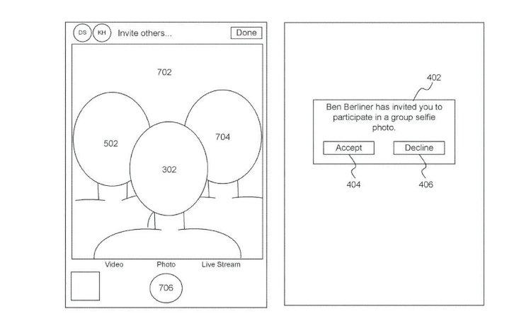 Apple có bằng sáng chế về khả năng giả lập chụp hình selfie chung khi đang ở xa nhau