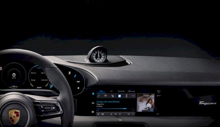 Apple Music sẽ được tích hợp đầy đủ trong Porsche Taycan