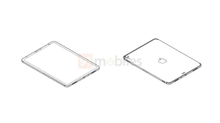 Rò rỉ bản vẽ được cho là của iPad thế hệ mới, thiết kế giống iPad Pro, có Face ID và USB Type-C