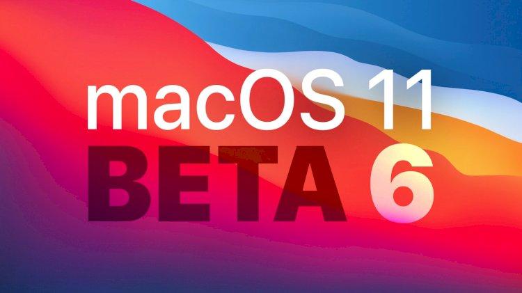 Apple phát hành macOS Big Sur Beta 6 tới các nhà Phát triển