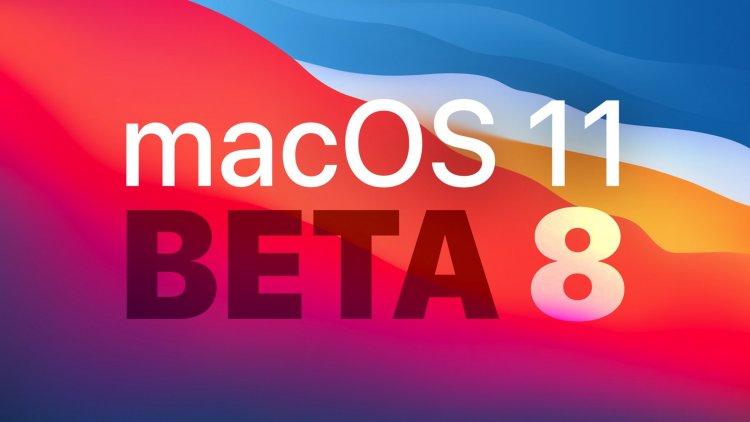 Apple phát hành macOS Big Sur Beta 8 tới các nhà phát triển