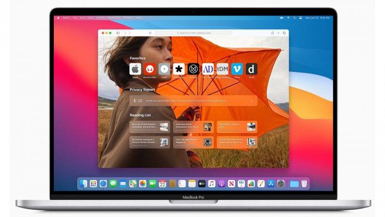 Cài đặt hình nền cho Safari 14 trên macOS