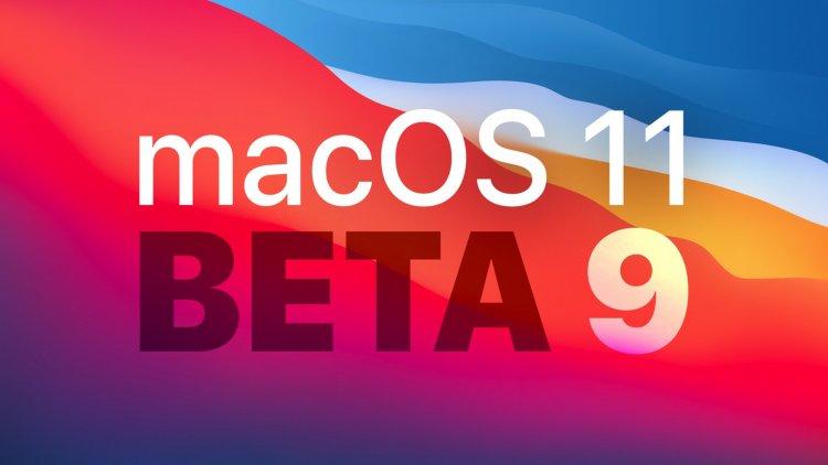 Apple phát hành macOS Big Sur Beta 9 tới các nhà phát triển
