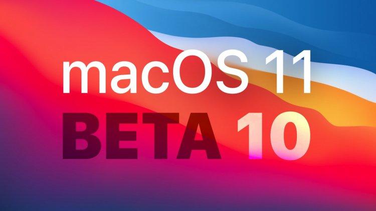 Apple phát hành macOS Big Sur Beta 10 tới các nhà phát triển