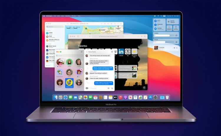Apple chính thức phát hành macOS Big Sur tới người dùng