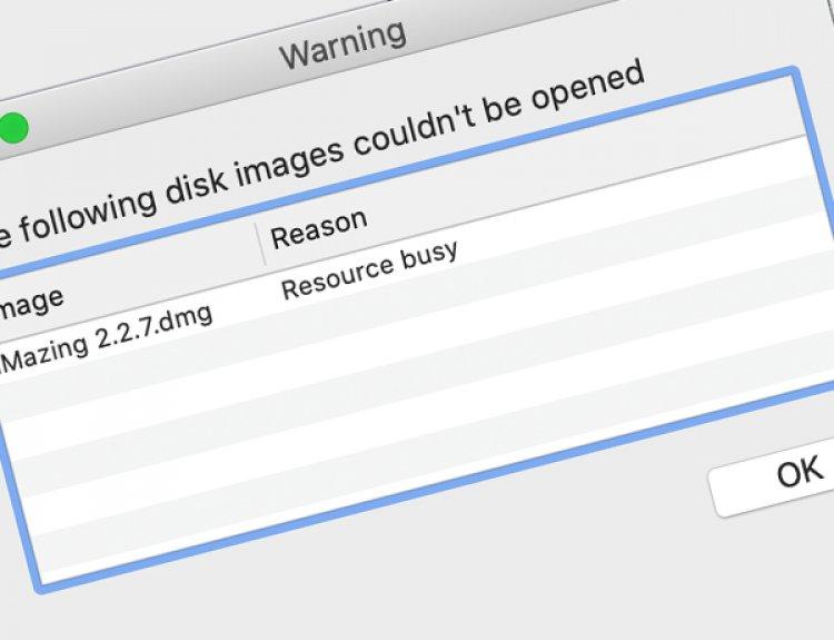 Khắc phục lỗi Resource Busy trên macOS