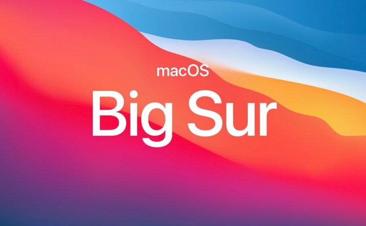Apple phát hành bản cập nhật mới của macOS Big Sur 11.0.1 tới 1 số người dùng