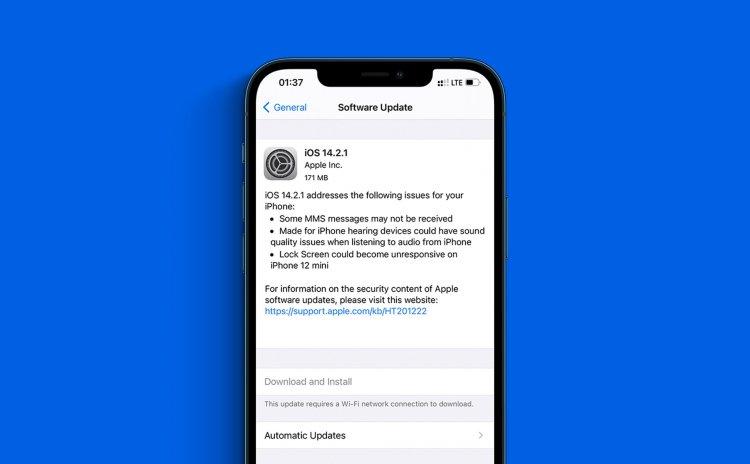 Apple phát hành iOS 14.2.1 chính thức: sửa lỗi tin nhắn và lỗi màn hình khoá trên iPhone 12