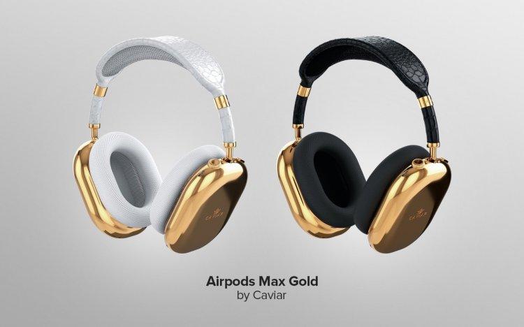 AirPods Max làm bằng vàng và da cá sấu có giá tới 108,000$