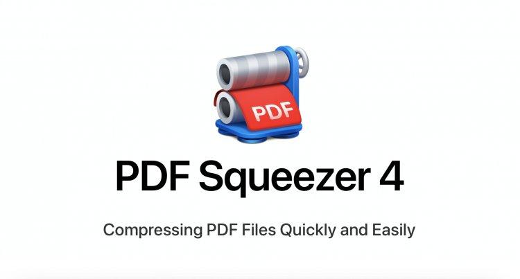 PDF Squeezer - Ứng dụng nén tài liệu PDF mạnh mẽ dành cho Mac