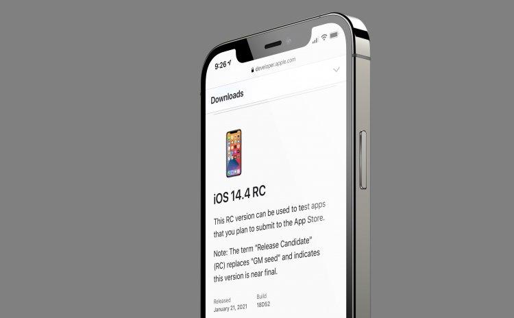 Apple phát hành iOS 14.4 RC cho người dùng beta