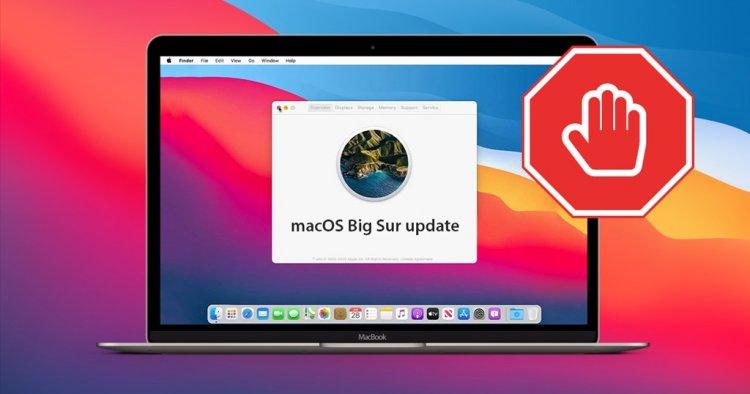 Cập nhật macOS lên macOS Big Sur có thể gây mất dữ liệu nếu không đủ dung lượng trống