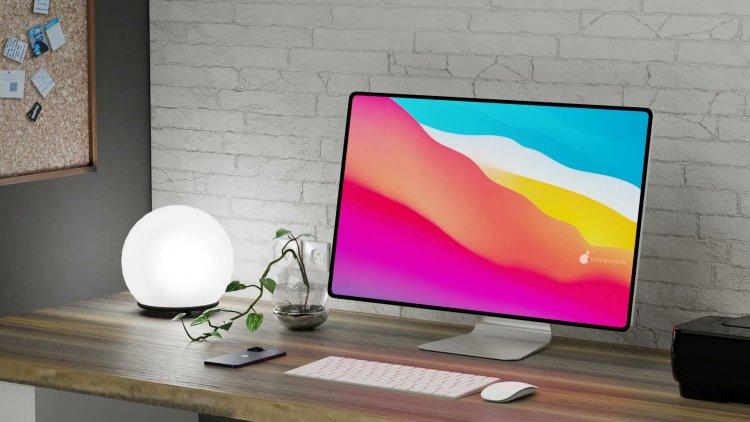 Concept iMac với thiết kế mới có thể sẽ ra mắt trong năm 2021