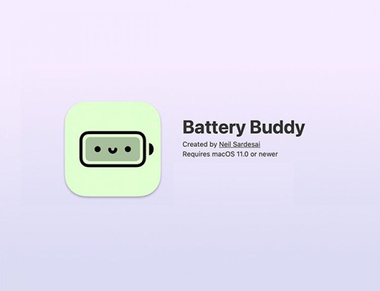 Battery Buddy - Thay đổi biểu tượng pin mặc định trên macOS