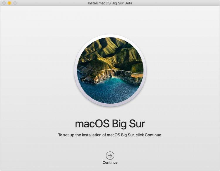Tải bộ cài macOS Big Sur trên macOS Big Sur