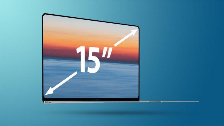 Apple đang phát triển dòng MacBook Air 15-inch?