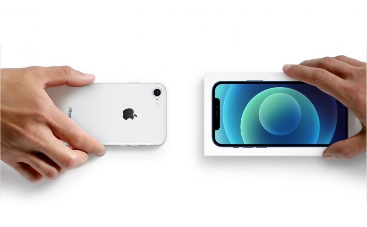 Apple vừa cho phép khách hàng Trade-In điện thoại Pixel 5 và Galaxy Note20 để mua iPhone mới