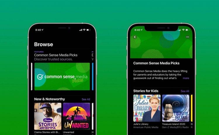 Apple hợp tác cùng Common Sense Media trong hoạt động kiểm duyệt nội dung podcast dành cho trẻ em