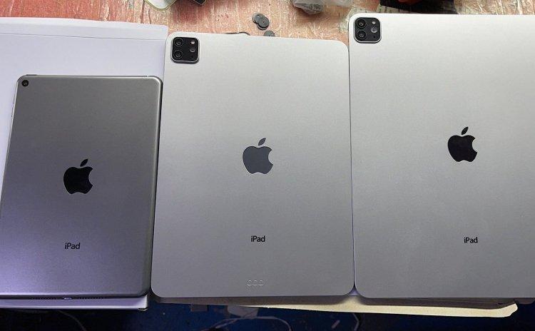 Rò rỉ hình ảnh dummy của iPad Pro và iPad mini mới sắp ra mắt
