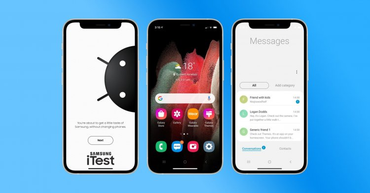 Trải nghiệm giao diện Samsung trên iPhone của bạn