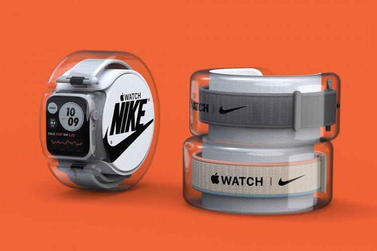 Cách đóng gói Apple Watch giúp nhìn được phối màu mặt và dây mà không cần khui hộp