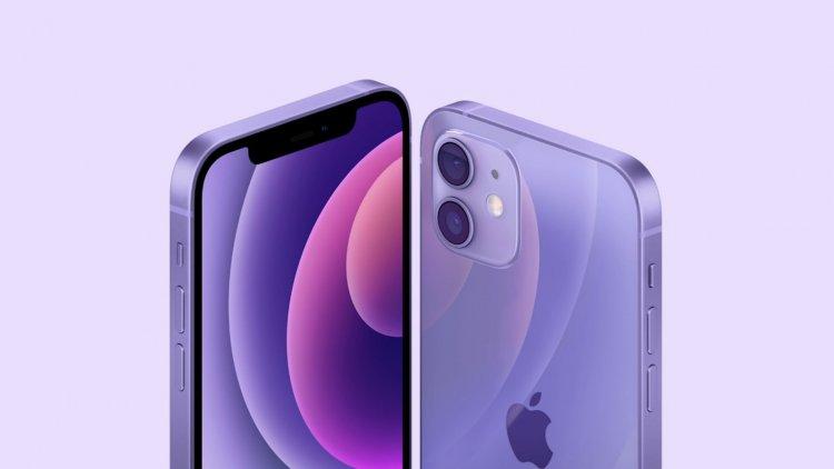 iPhone 12 và iPhone 12 mini có thêm màu tím.