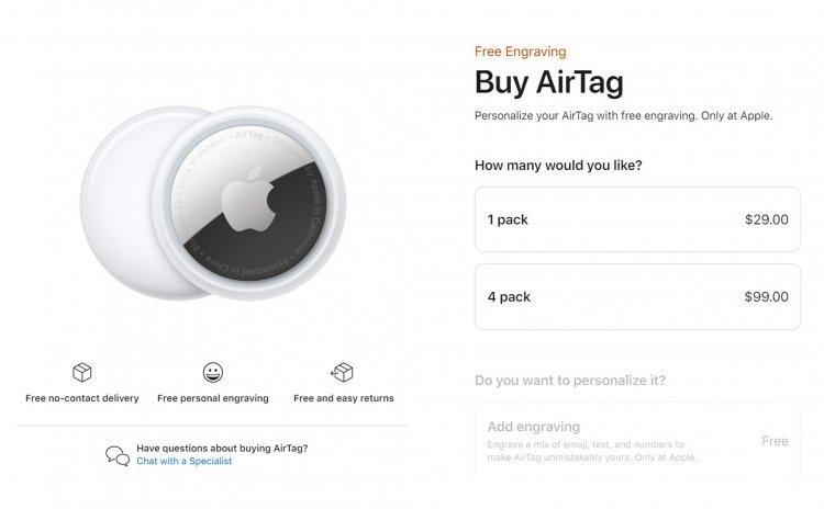 Apple đã cho đặt hàng AirTag và iPhone 12 Tím và sẽ giao hàng vào đầu tháng 5