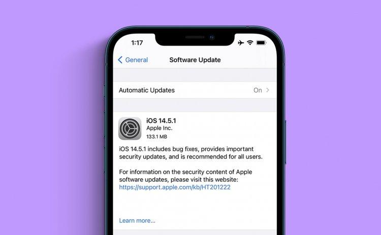 Apple phát hành iOS 14.5.1 chính thức