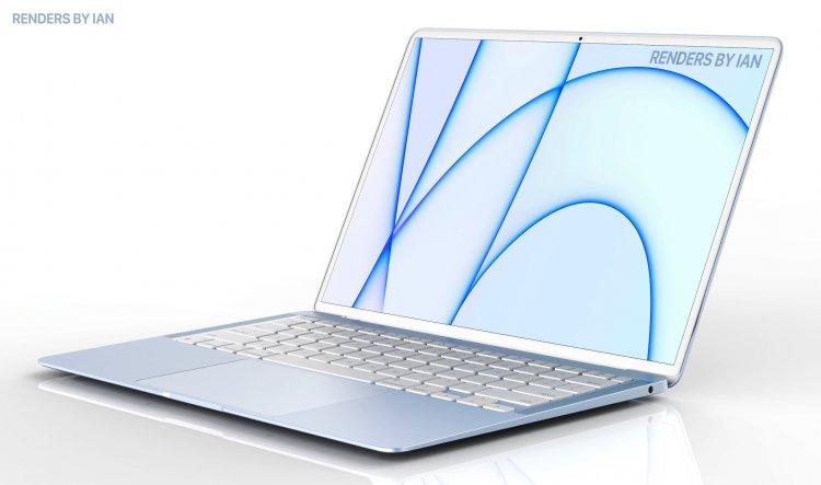 Ý tưởng concept MacBook Air M1x  mới