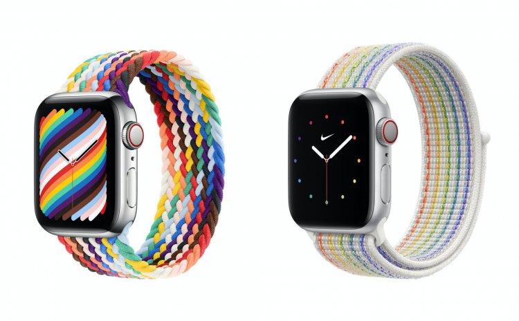 Dây đeo Pride Edition mới dành cho Apple Watch tuyệt đẹp