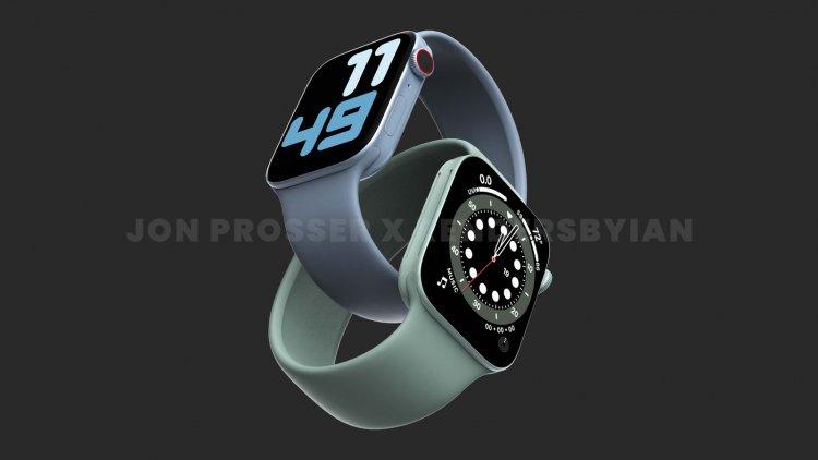 Apple Watch Series 7 với phong cách thiết kế vuông vức và thêm phiên bản màu xanh