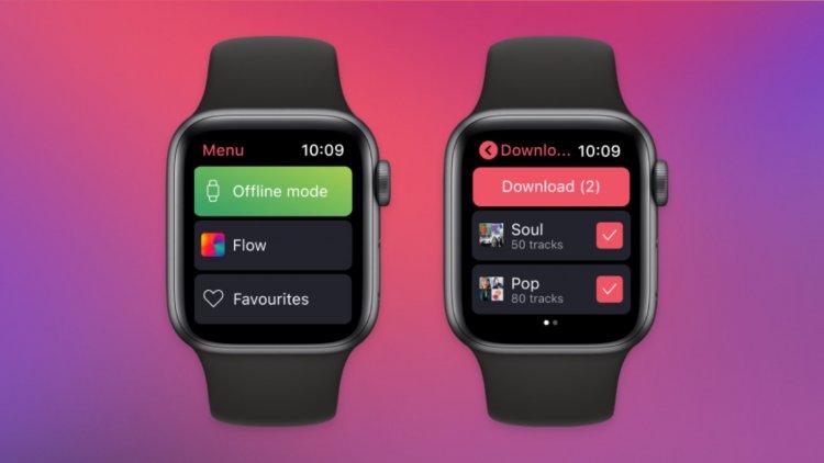 Deezer trên Apple Watch có thể download và nghe nhạc Offline