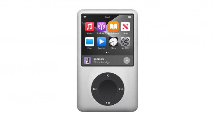 Ý tưởng iPod Max rất đẹp để dùng với Apple Music Lossless