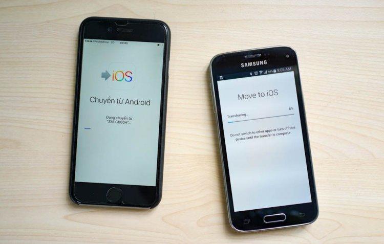 iOS 15 giúp người dùng chuyển dữ liệu từ điện thoại Android sang iPhone dễ hơn bao giờ hết