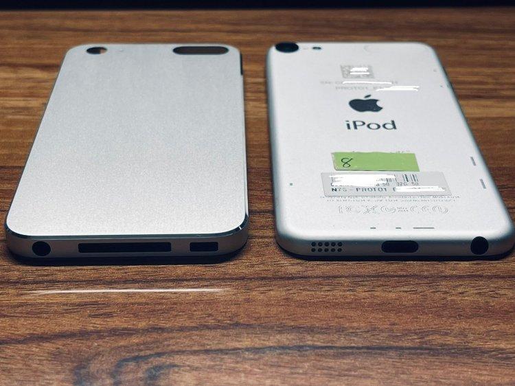 Xuất hiện hình ảnh về chiếc iPod Touch 5 với các cạnh vuông vức, cổng 30 pin chưa từng được ra mắt của Apple