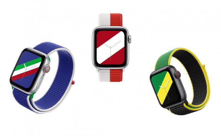 Apple Watch ra mắt dây đeo mới theo màu cờ của 22 quốc gia