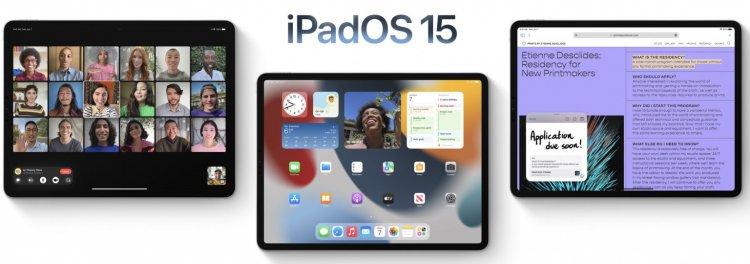 Danh sách các thiết bị tương thích và cập nhật được iPadOS 15