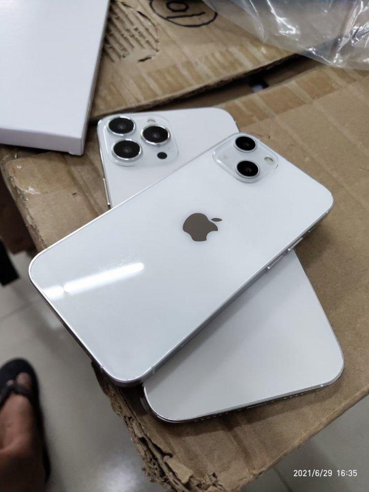 Rò rỉ hình ảnh mô hình iPhone 13 với tai thỏ và vị trí camera thay đổi