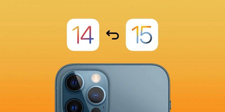 Cách hạ cấp iOS 15 về iOS 14