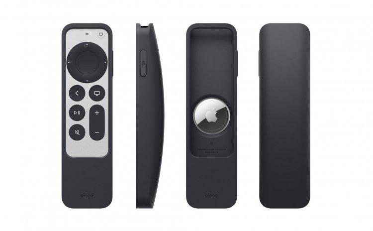 Elago ra mắt case remote Apple TV R5, được thiết kế để có thể gắn AirTag giúp định vị remote TV