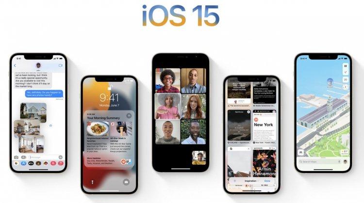 Danh sách iPhone có thể nâng cấp lên iOS 15